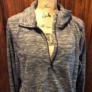 St. John's Bay Long Sleeve Quarter Zip Pullover